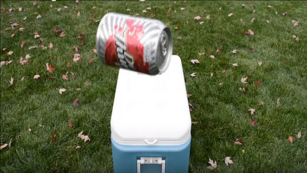 """""""Cooler Cannon"""" Launches Beer Right Into Your Hands You Lazy Slob"""