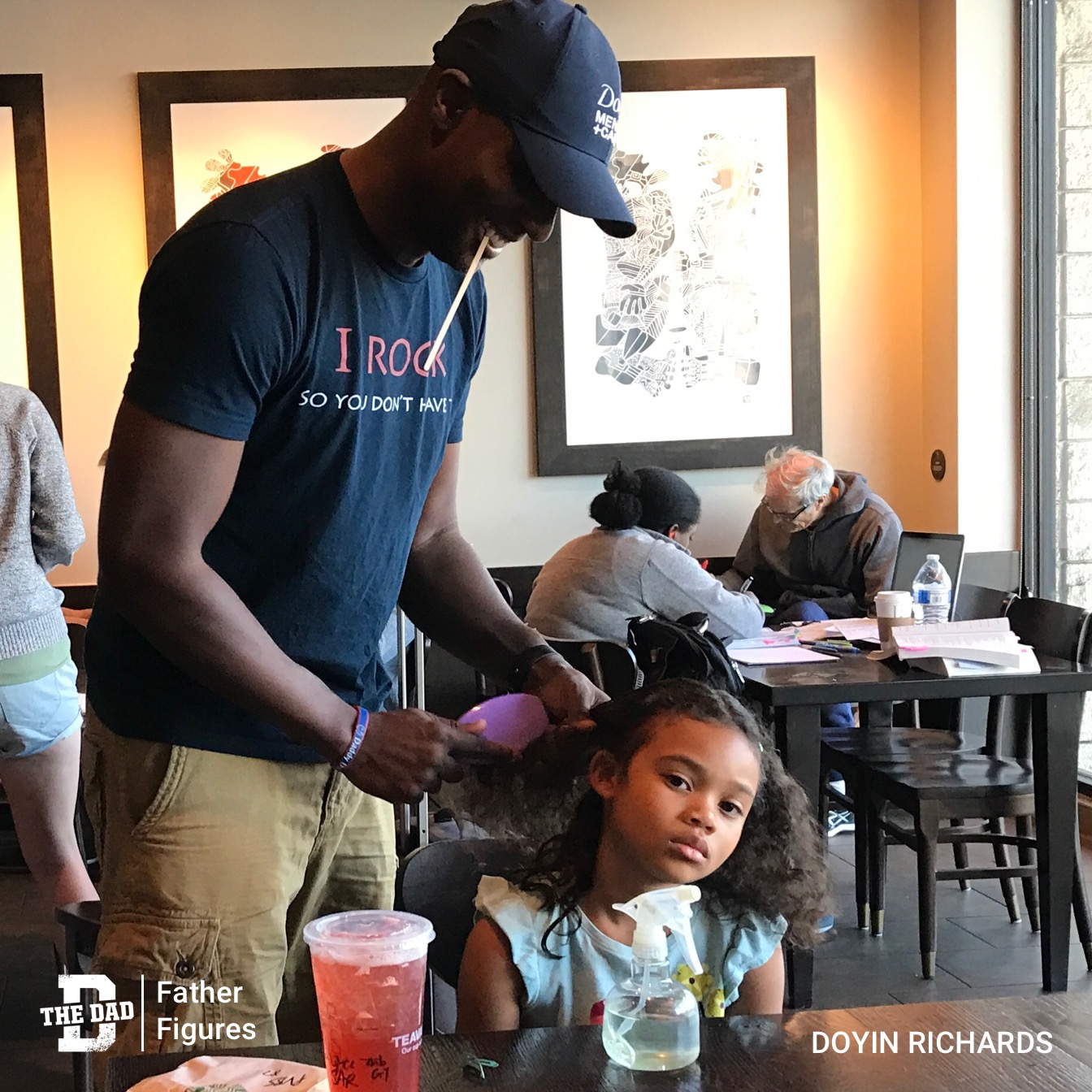 Father Figures: Hairstylist Dad