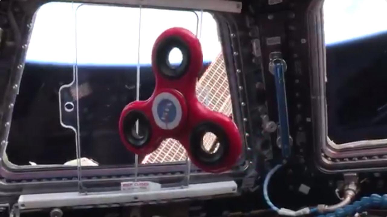 Boldly Fidget Spinning Where No One Has Fidget Spun Before