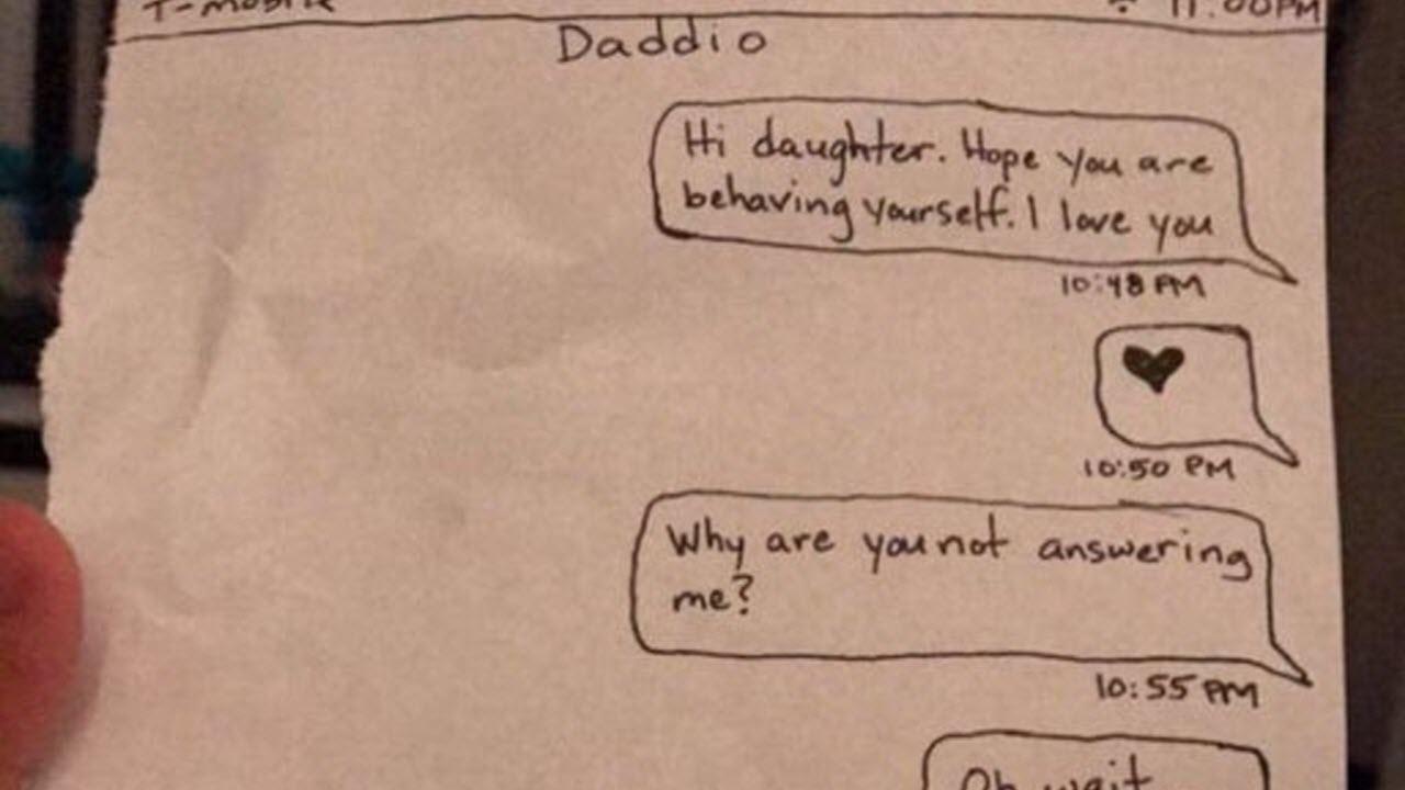 Dad's Handwritten Texts