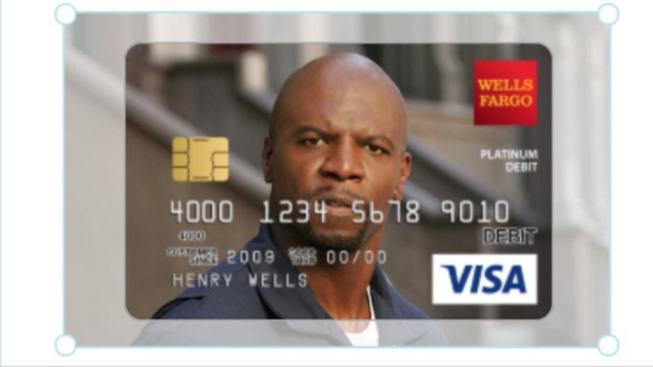 American Hero Terry Crews Helps Woman Get His Face On Her Debit Card