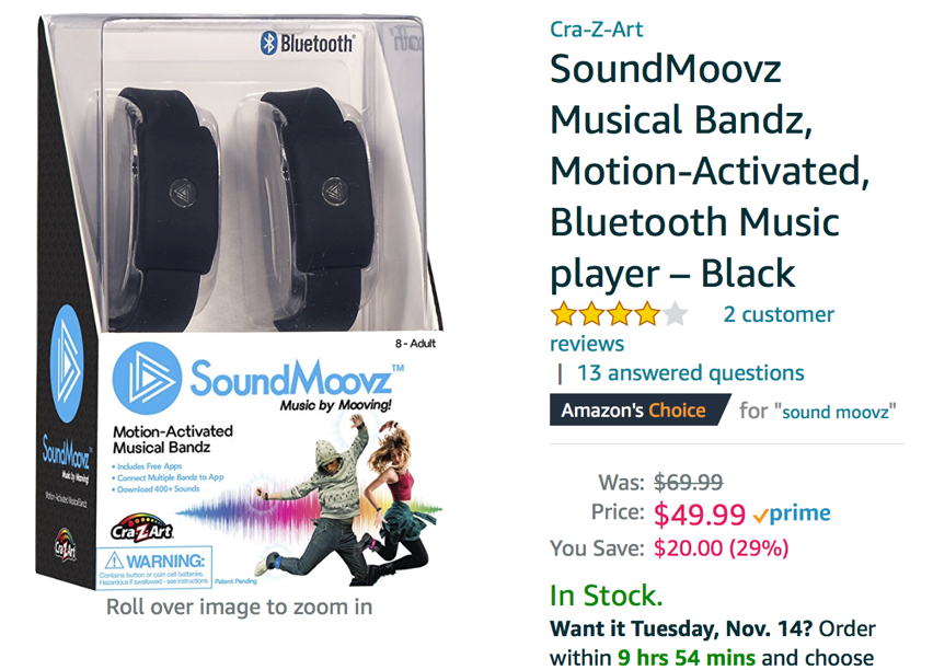 Motion-activated noise makers