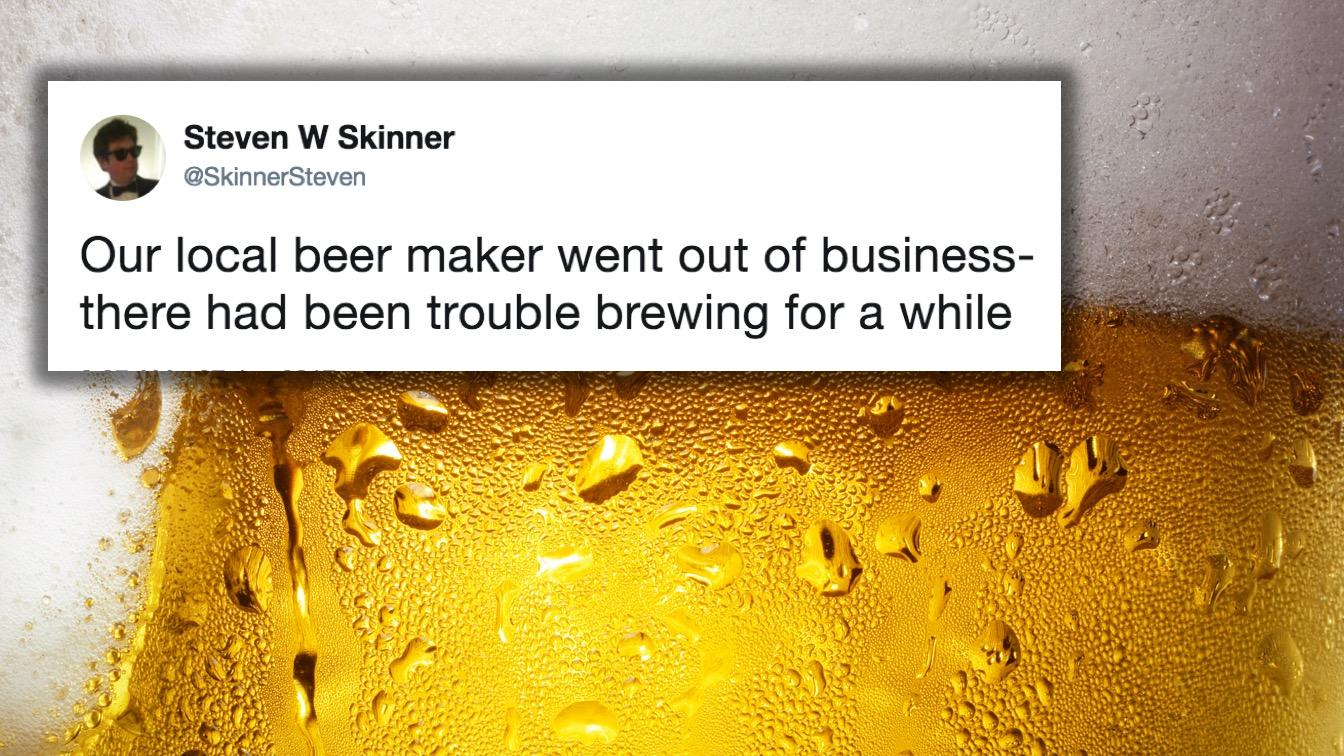 16 Funny As Hell Beer Tweets
