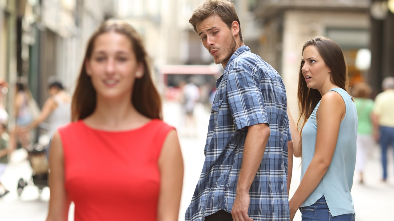 Couple From Viral Stock Photo Meme Has Tortured Backstory
