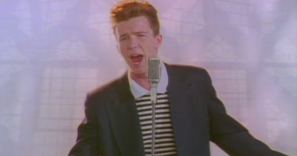 thanksgiving gets rickrolled