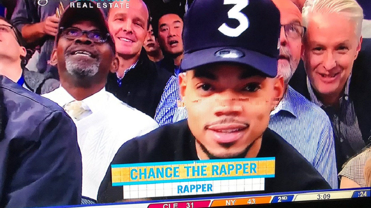Chance The Rapper Tries Out New Career As Weatherman