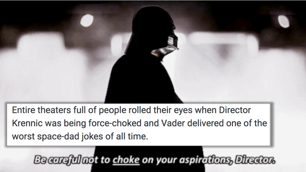 The 10 Most Cringeworthy Star Wars Moments