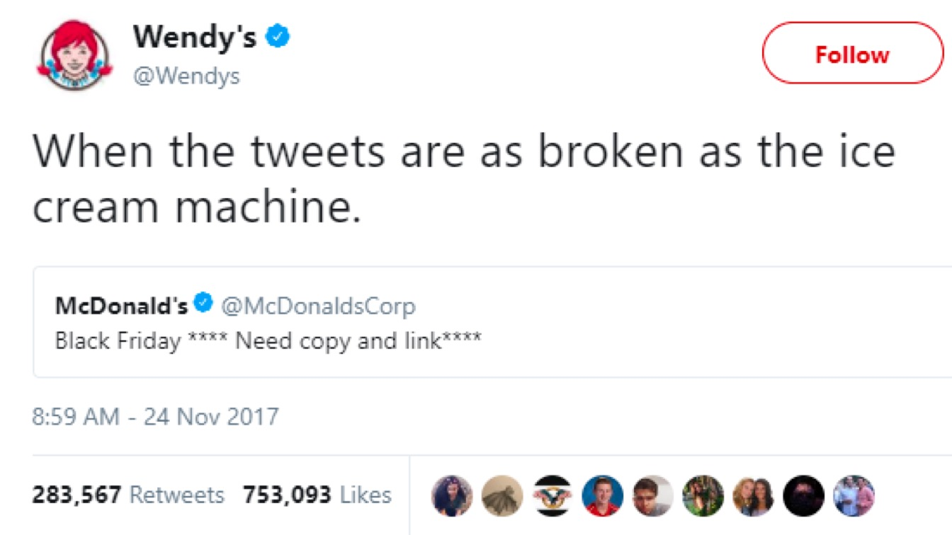 Wendy's Is At It Again, Flame-Broiling Rivals on Social Media