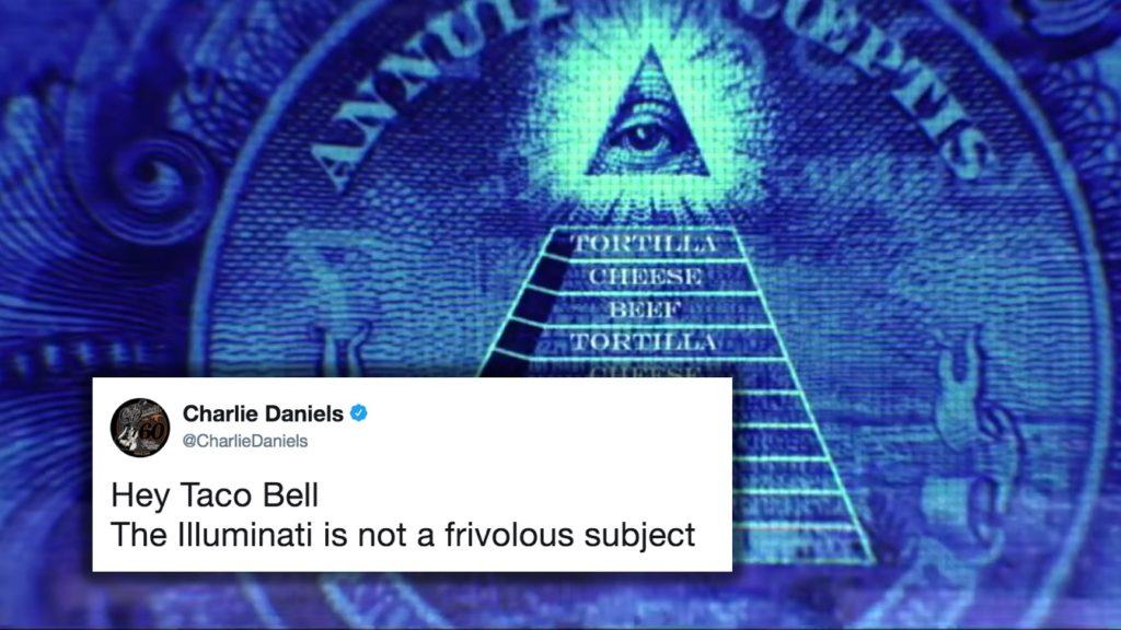 Charlie Daniels Warns Taco Bell Not To Take Illuminati Lightly