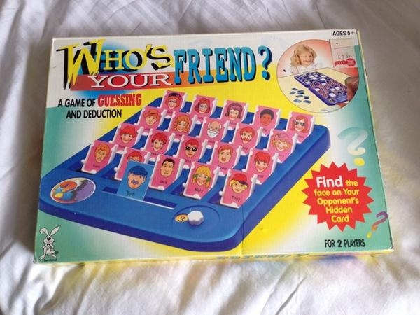 Who's Your Friend