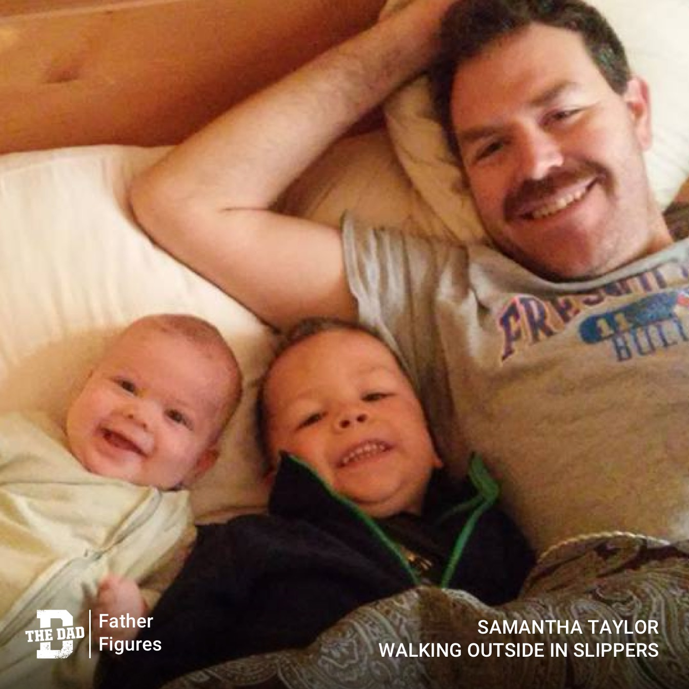 Father Figures: You Don't Have To Have A Great Dad To Be One