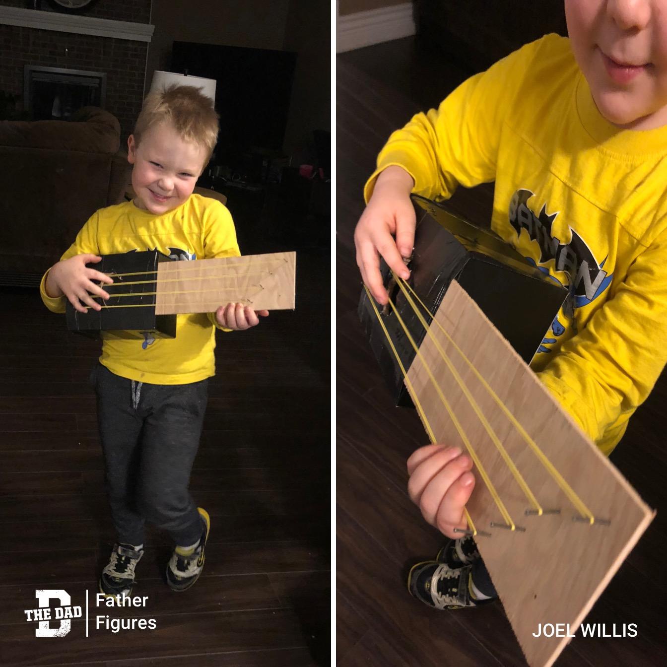 Father Figures: Guitar-Building Macgyvers