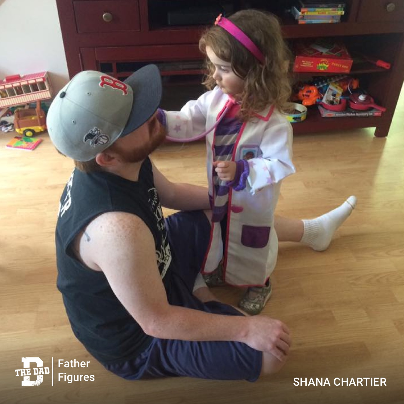 Father Figures: Pretend Doctor Appointments