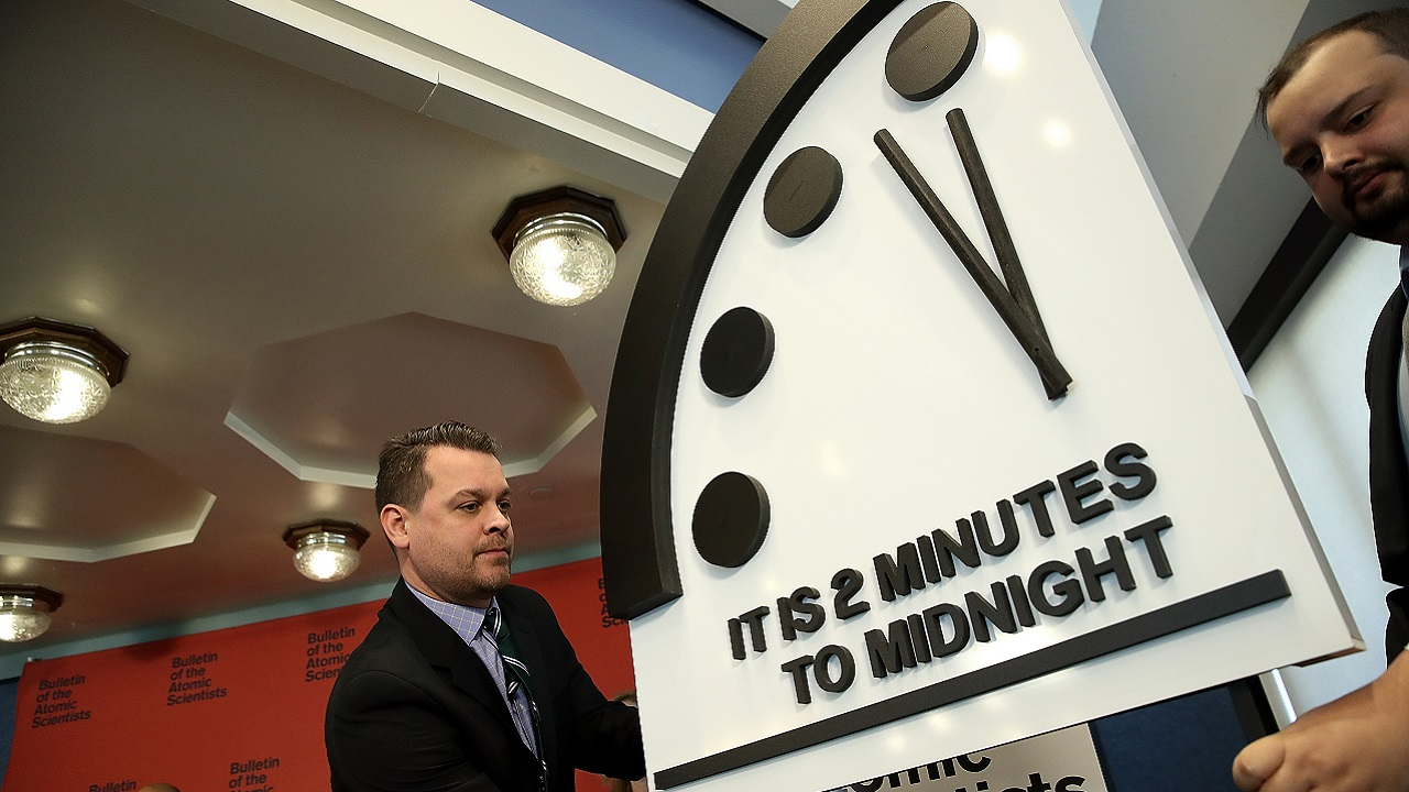 Doomsday Clock Edges Closer To Midnight Due To Environmental And