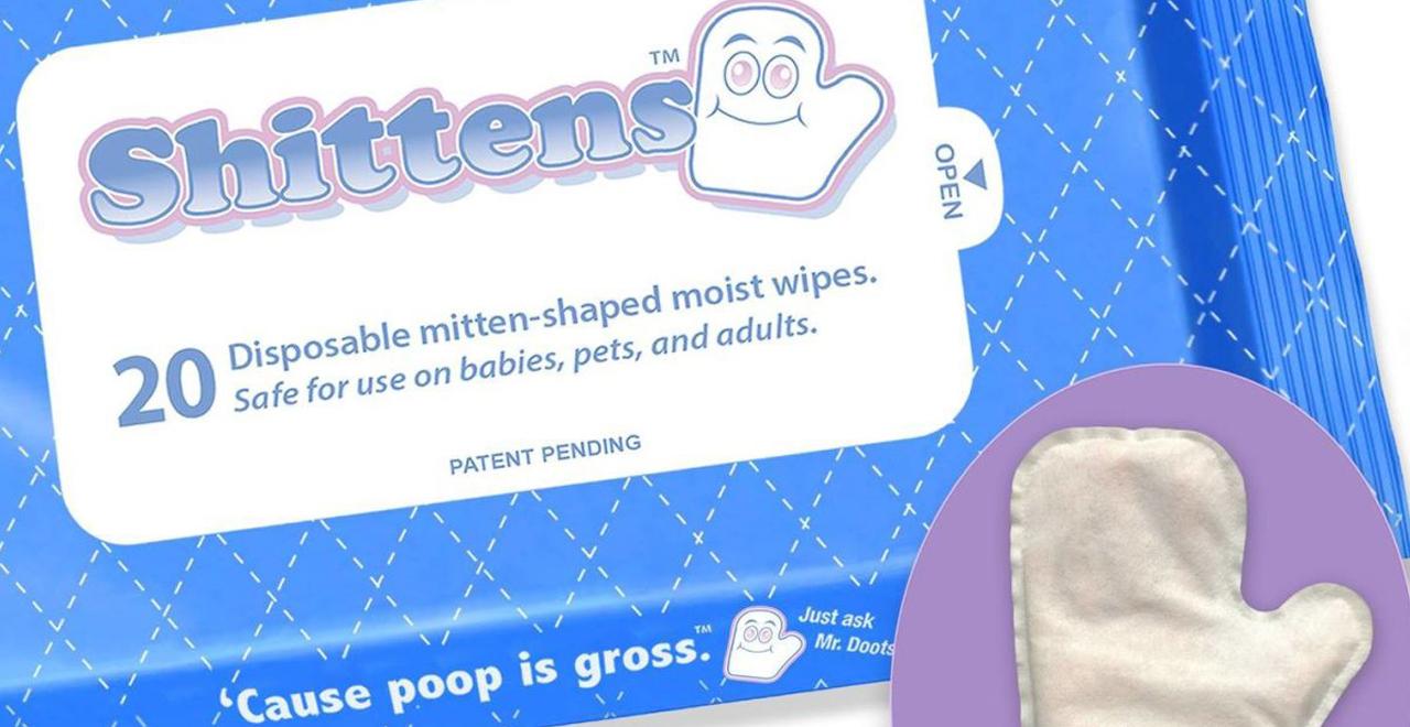 Shittens, Poo Glove Wipes