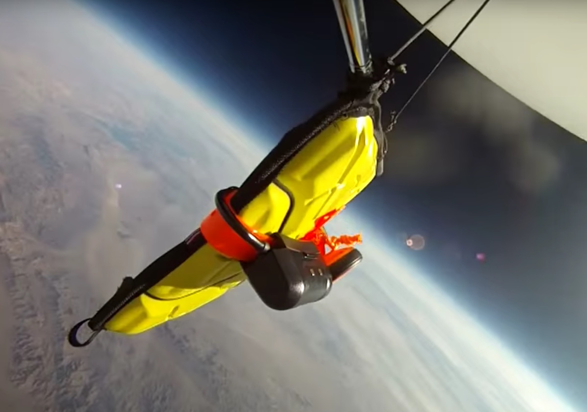 iPad Falls From Space And Survives