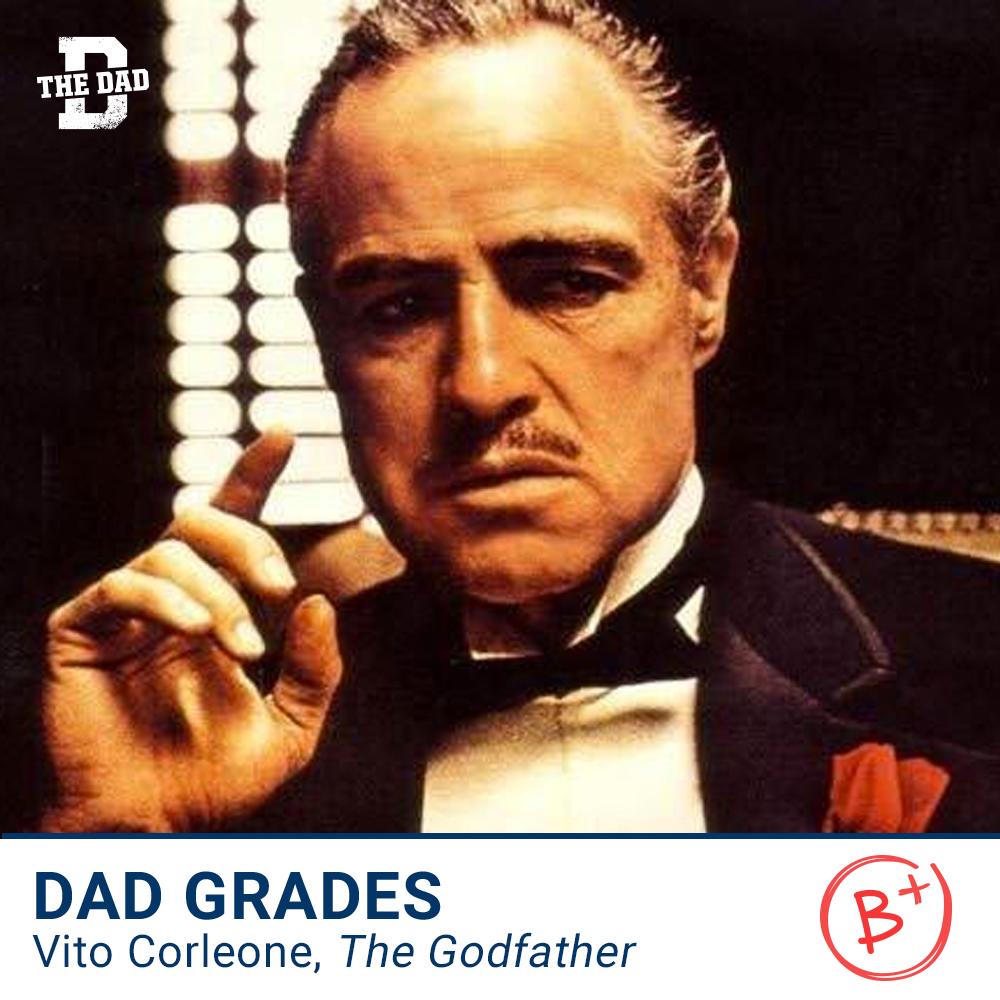 DAD GRADES: Vito Corleone, The Godfather
