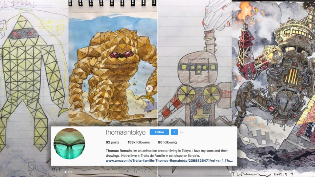 Artist Dad Does Incredible Drawings of His Sons' Art