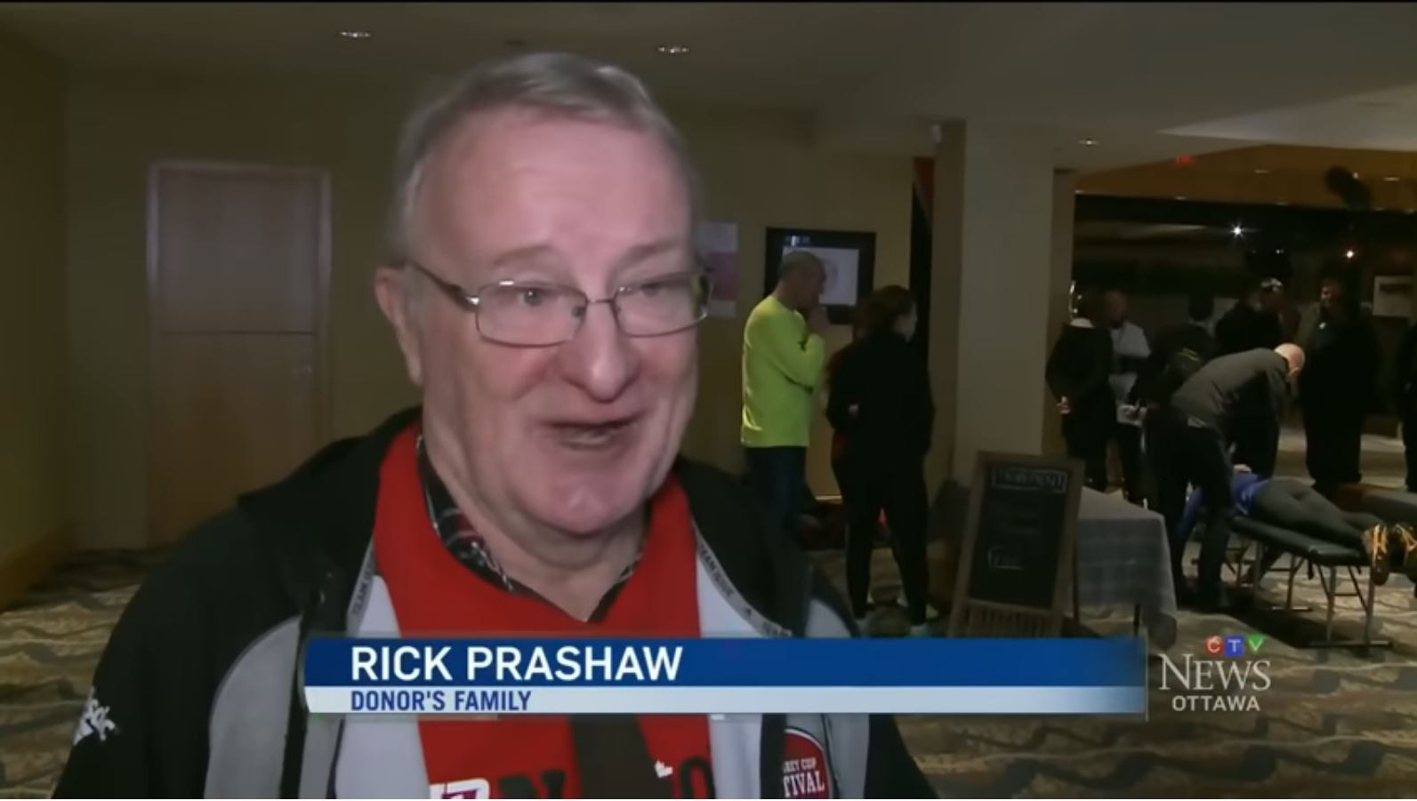 Father of Heart Donor Watches Recipient Run 10K