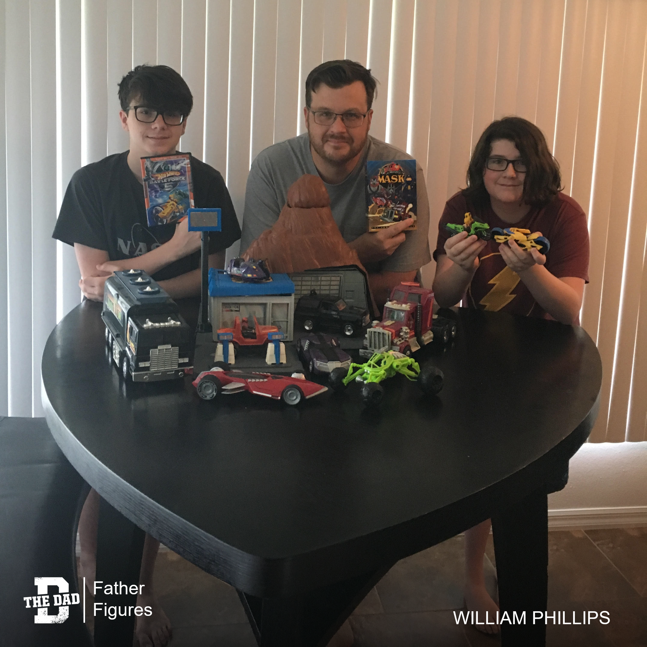 Father Figures: Timeless Toys