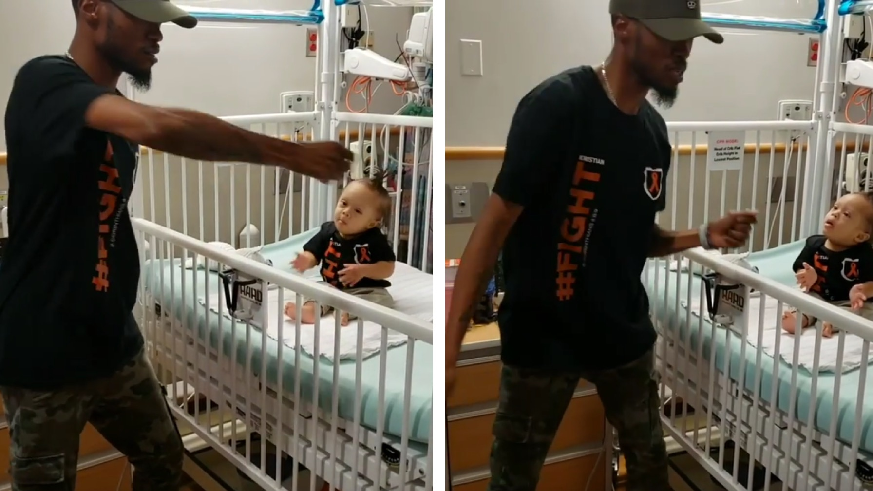 Dad's Dance For Cancer-Fighting Son Goes Viral