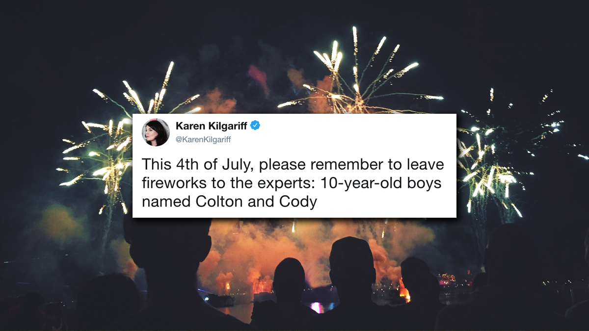 Tweet Roundup: The 10 Funniest Tweets About The Fourth Of July