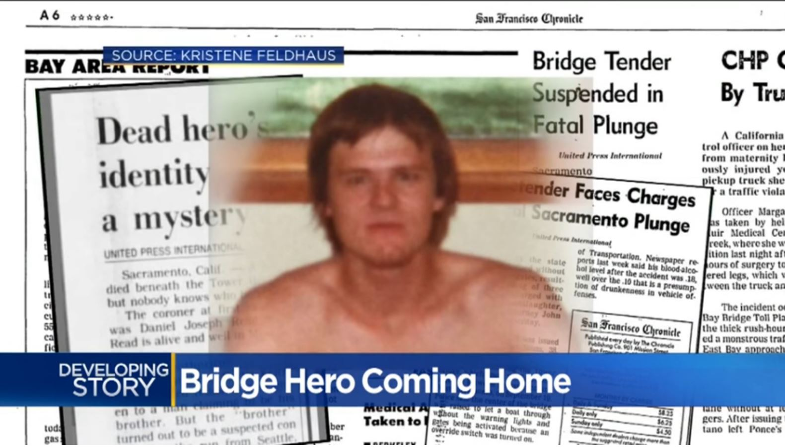 Daughter Learns Missing Dad Died a Hero