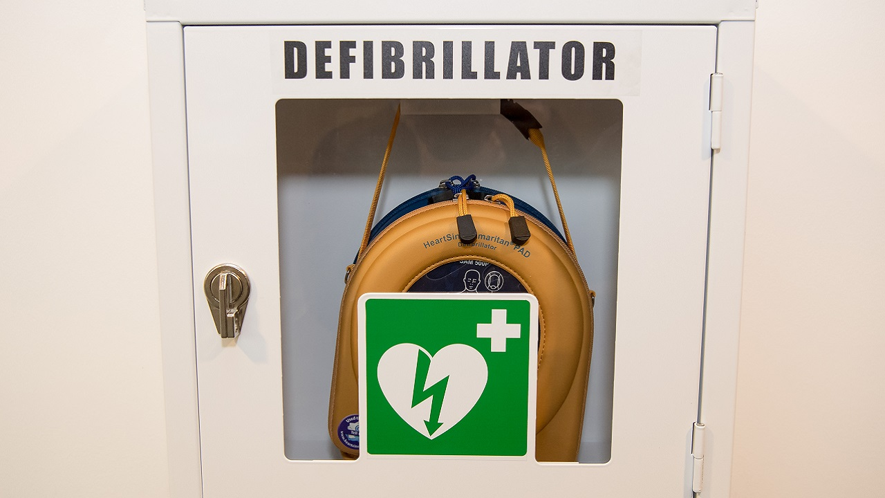 Dad Installs Defibrillator at School, Saves Son's Life With It