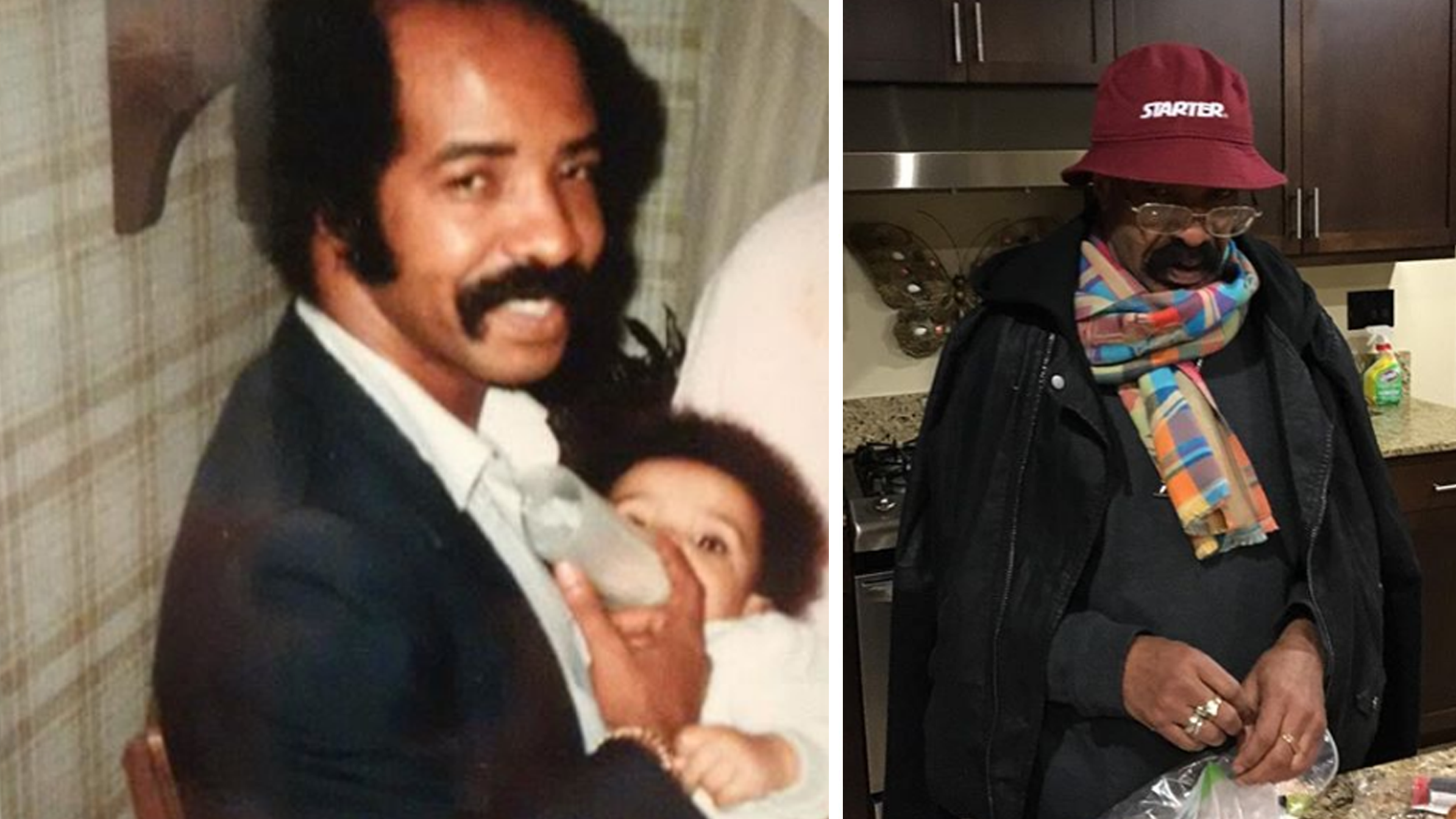 Baby Drake Gets Bottle Service From Dad