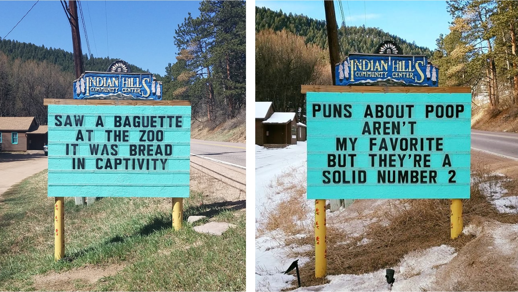 Community in Colorado Has the Punniest Sign in the World