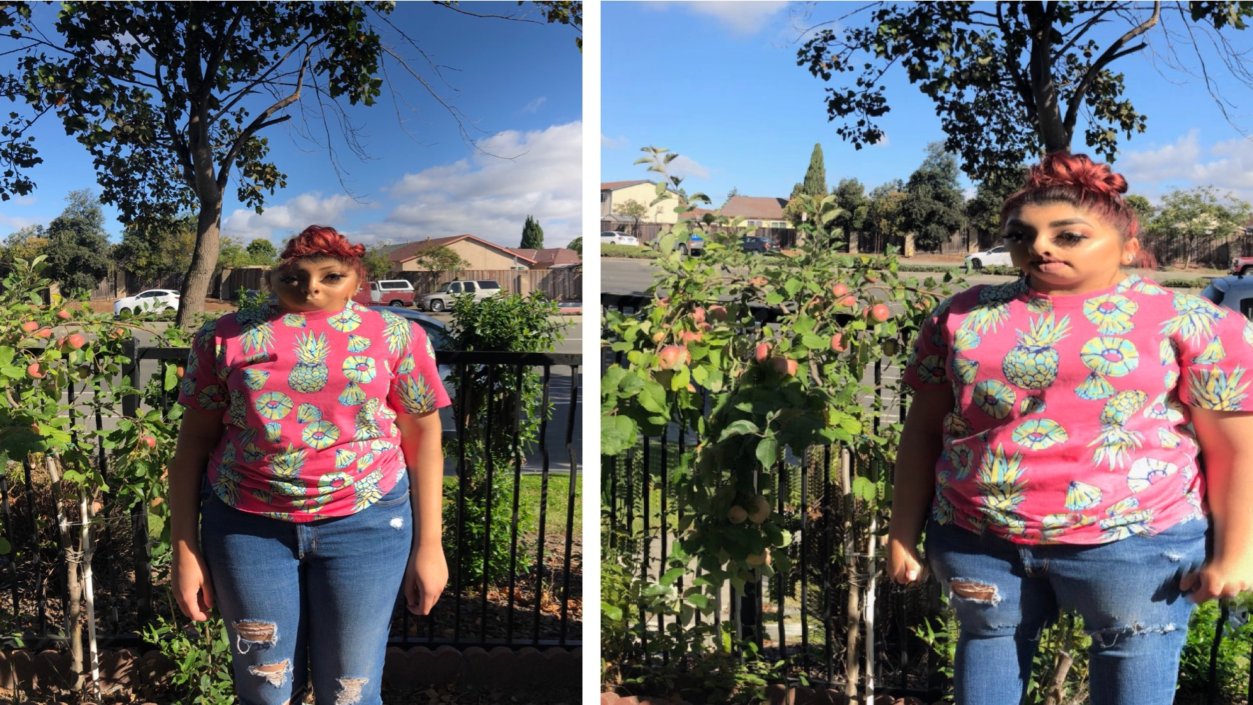 Dad's Panoramic Photo of Daughter Goes Horribly Wrong and Viral