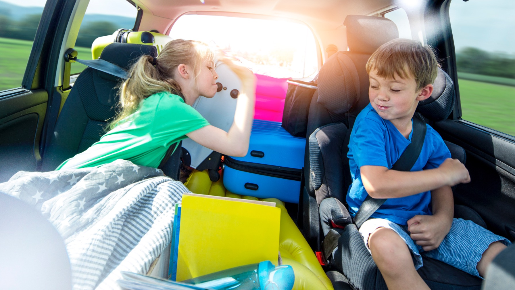 Dad Puts an End to Backseat Brawls With Genius New Product [VIDEO]