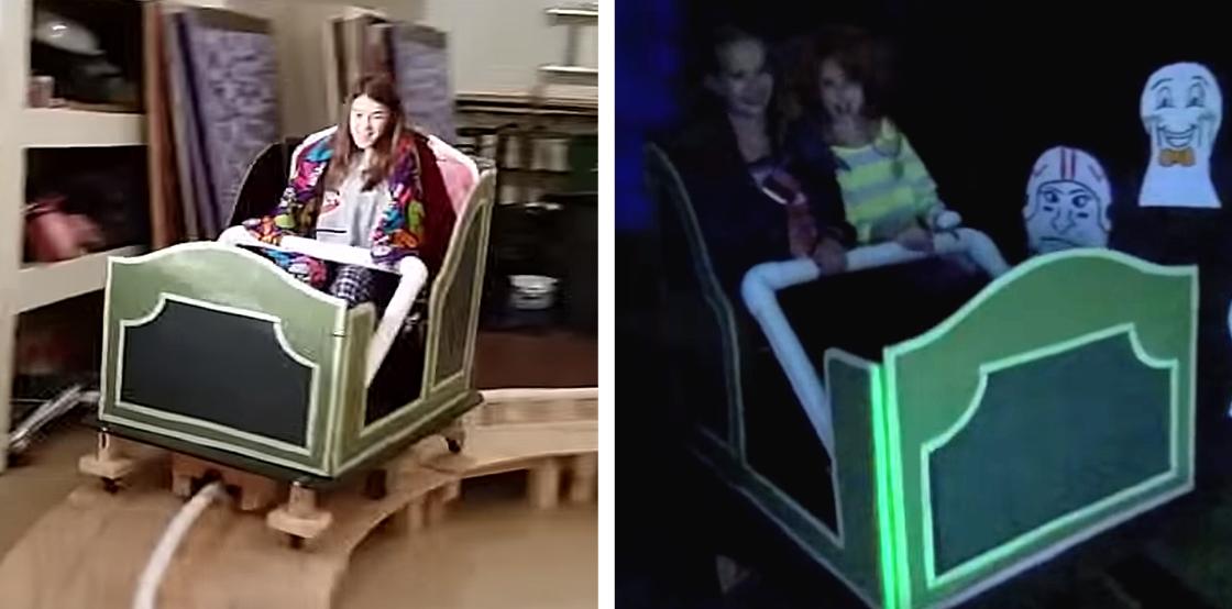 Dad Wins Halloween With DIY Disney Haunted Mansion in His Garage [VIDEO]