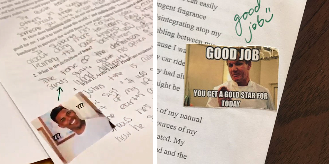 Teacher Uses Memes to Grade Assignments, Students Love It