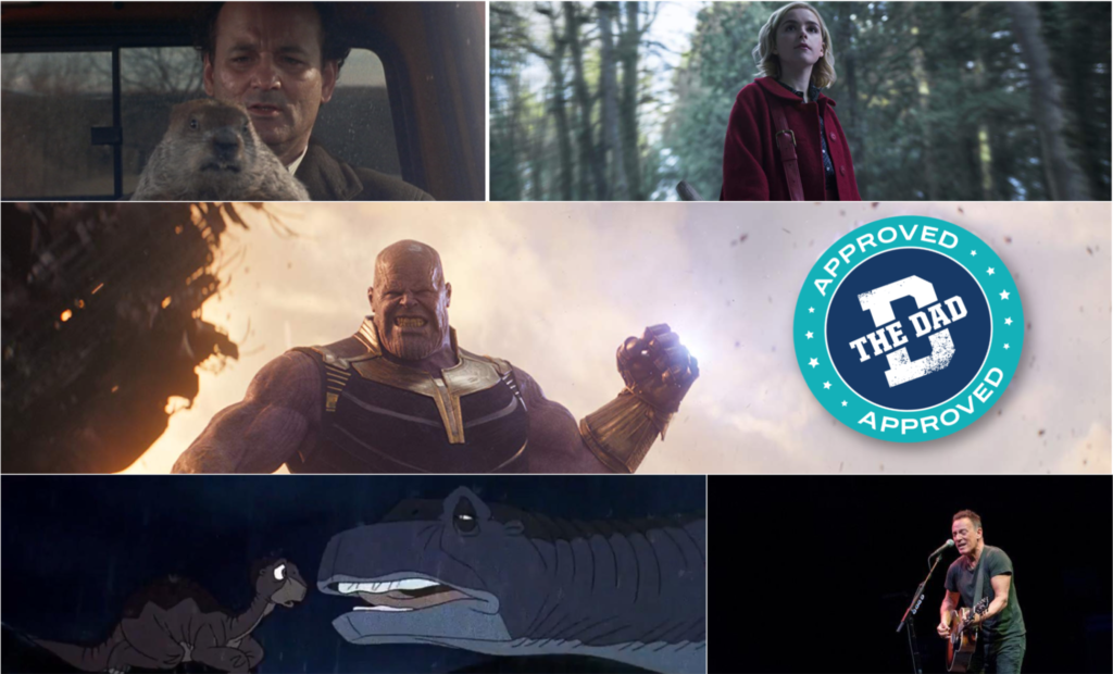 The Dad Approved December Streaming Picks
