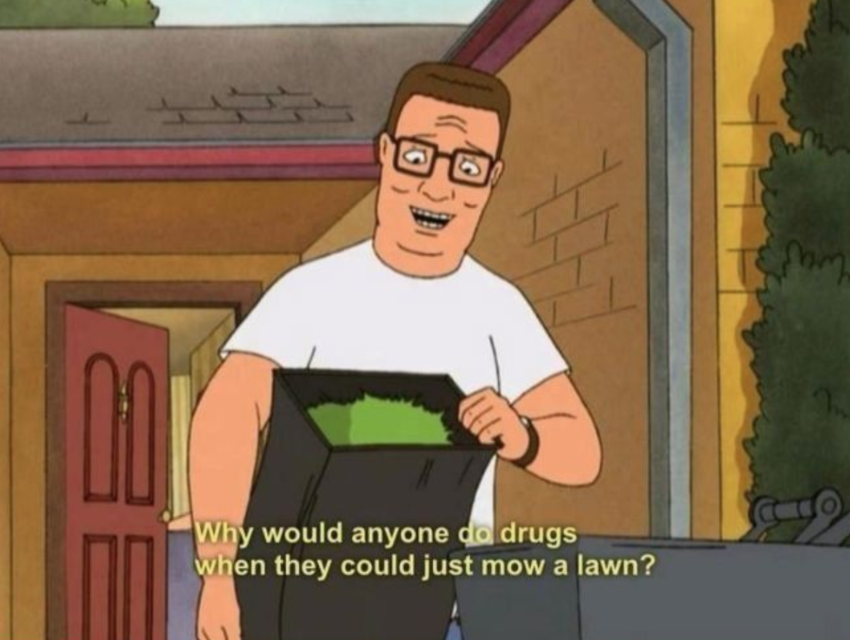 Dad Grades - Hank Hill From King Of The Hill