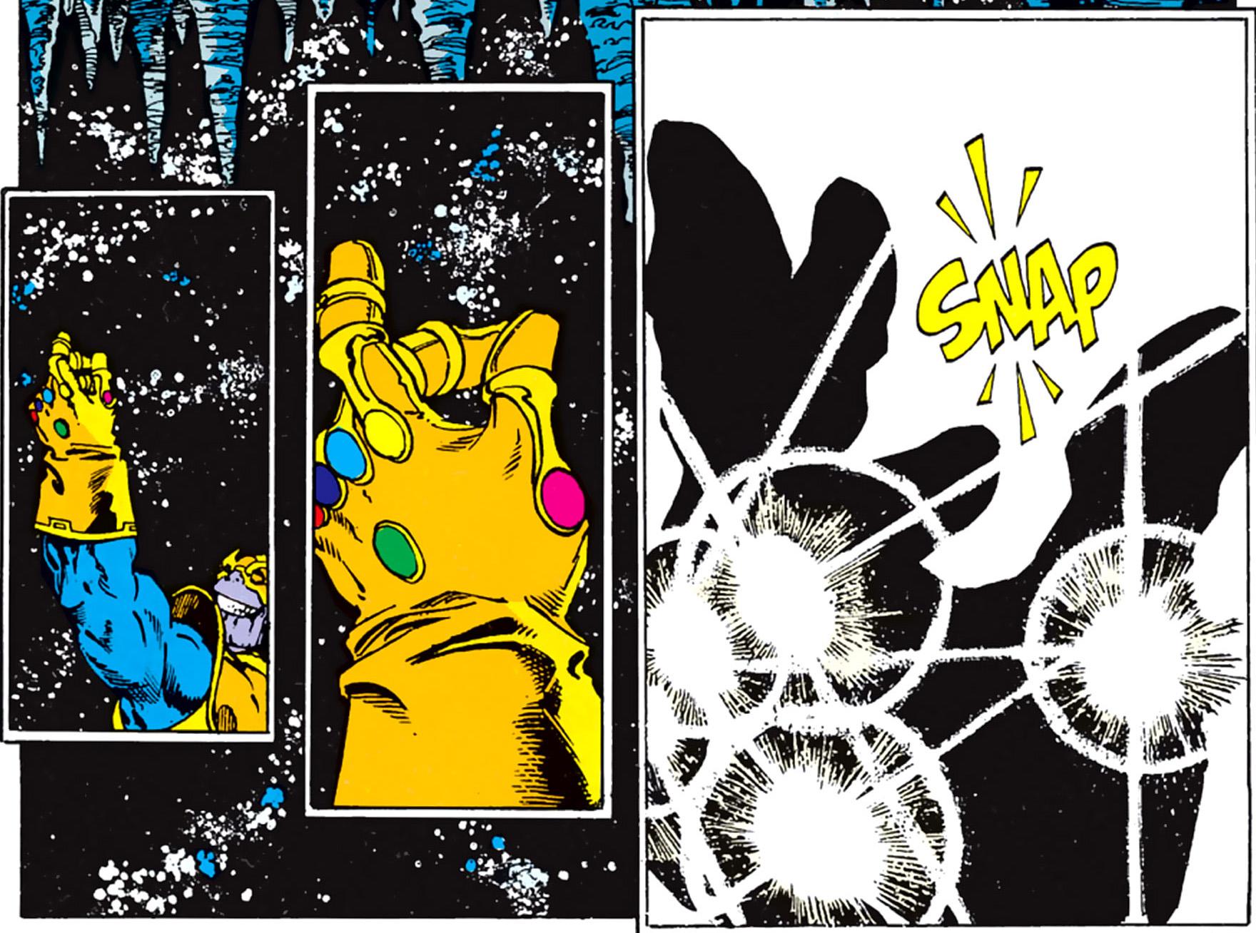 Thanos-Snap Comic