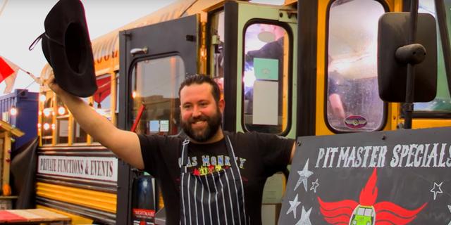 Dad Converts School Bus Into Thriving BBQ Restaurant [VIDEO]
