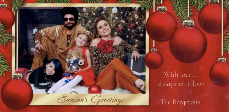 The Bergerons 2019 Christmas Card