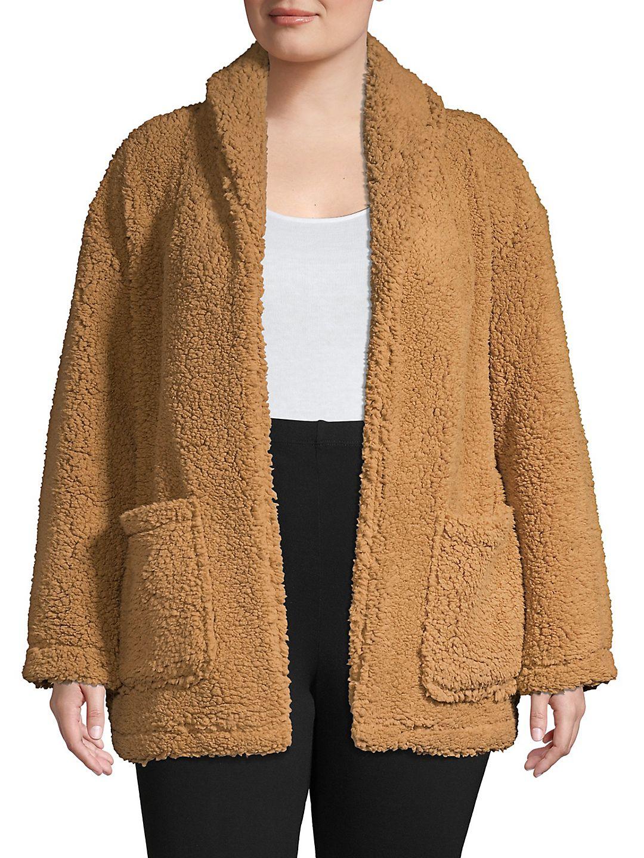 Big Pocket Teddy Jacket