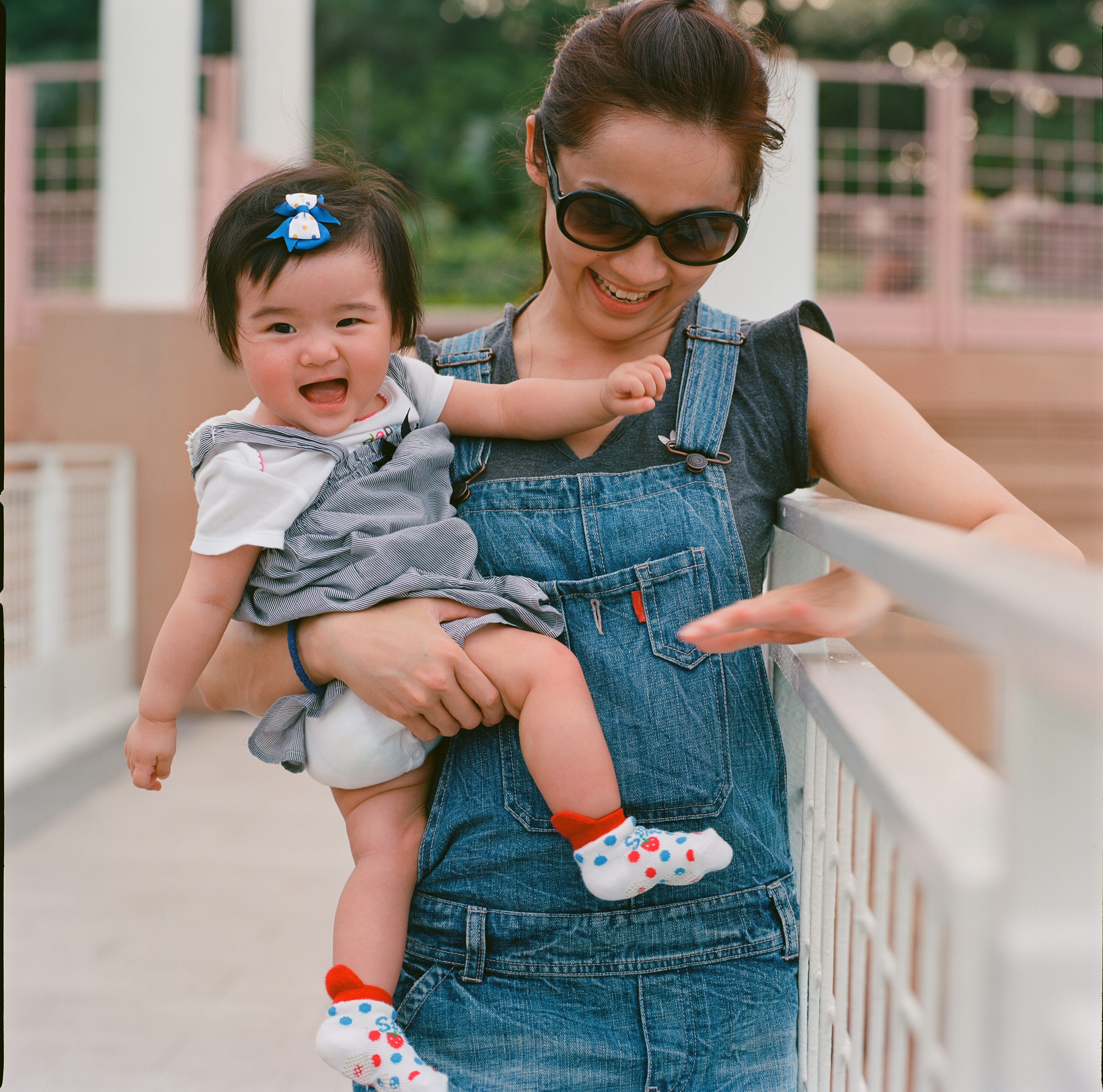 Mom in Overalls