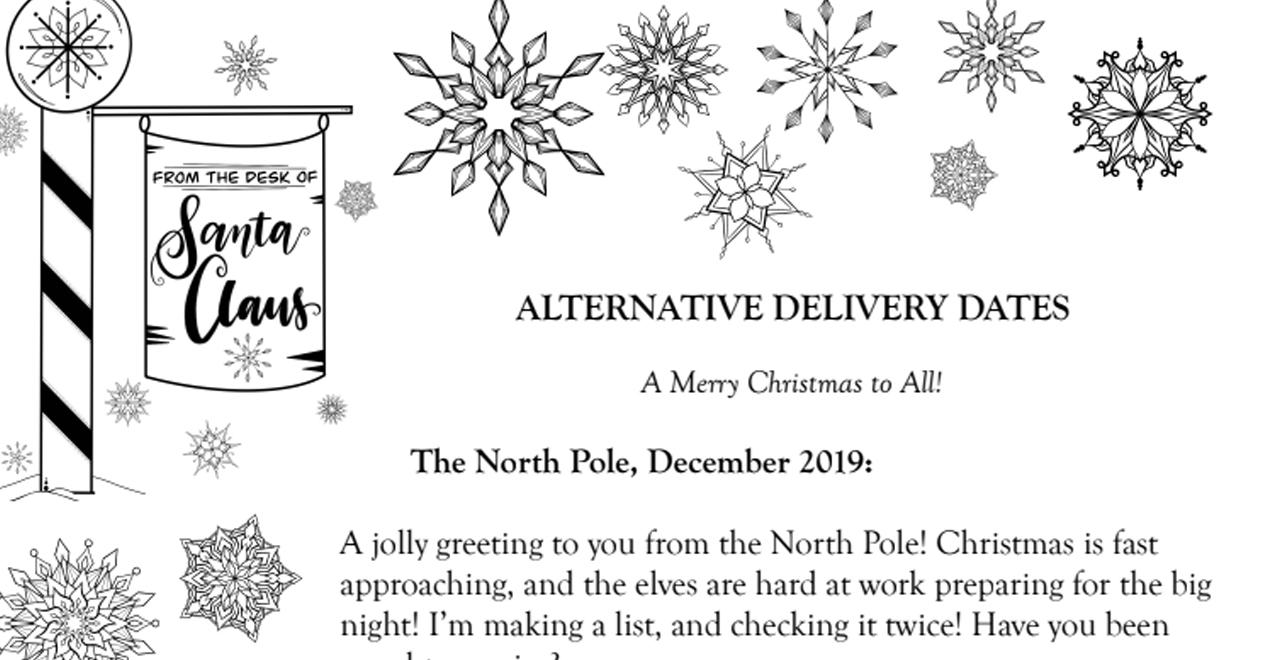 Santa's Alternative Deliveries