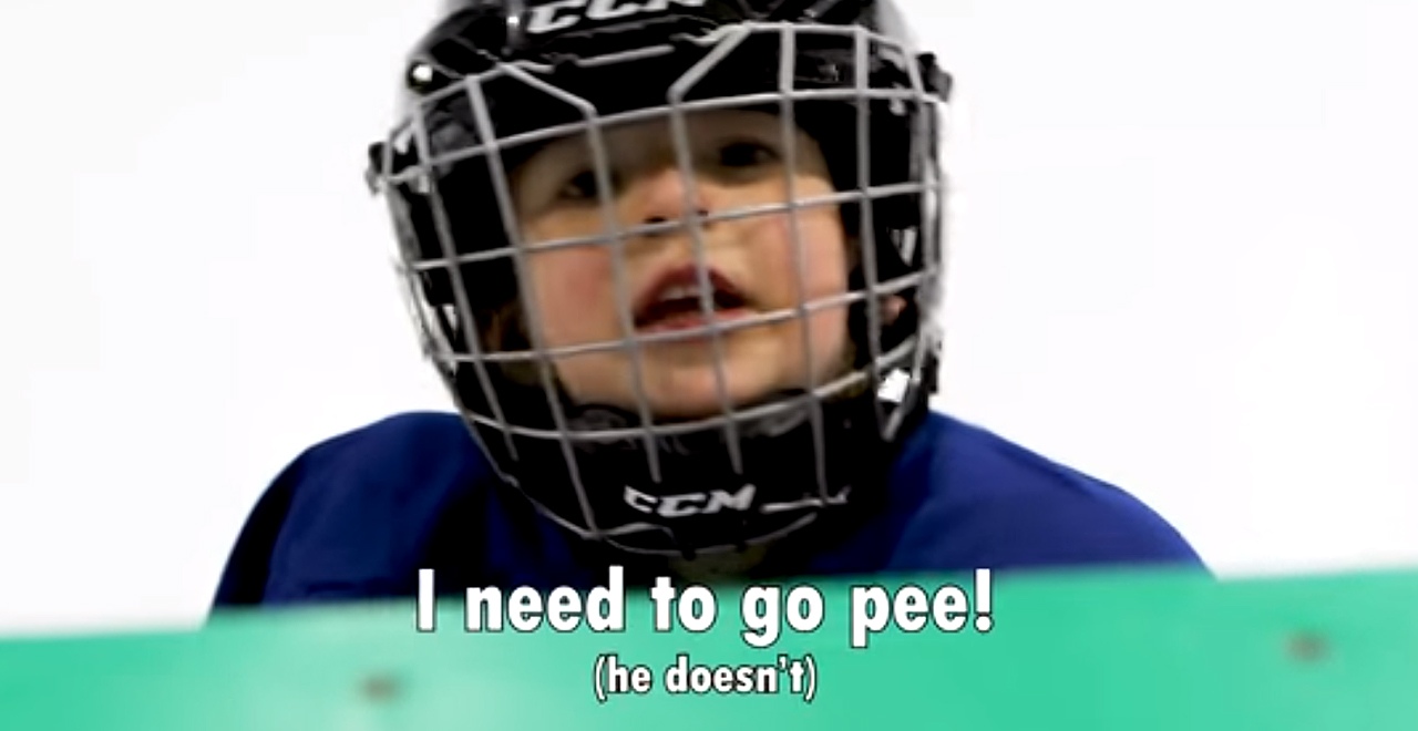 4yo Hockey Player Gets Mic'd Up