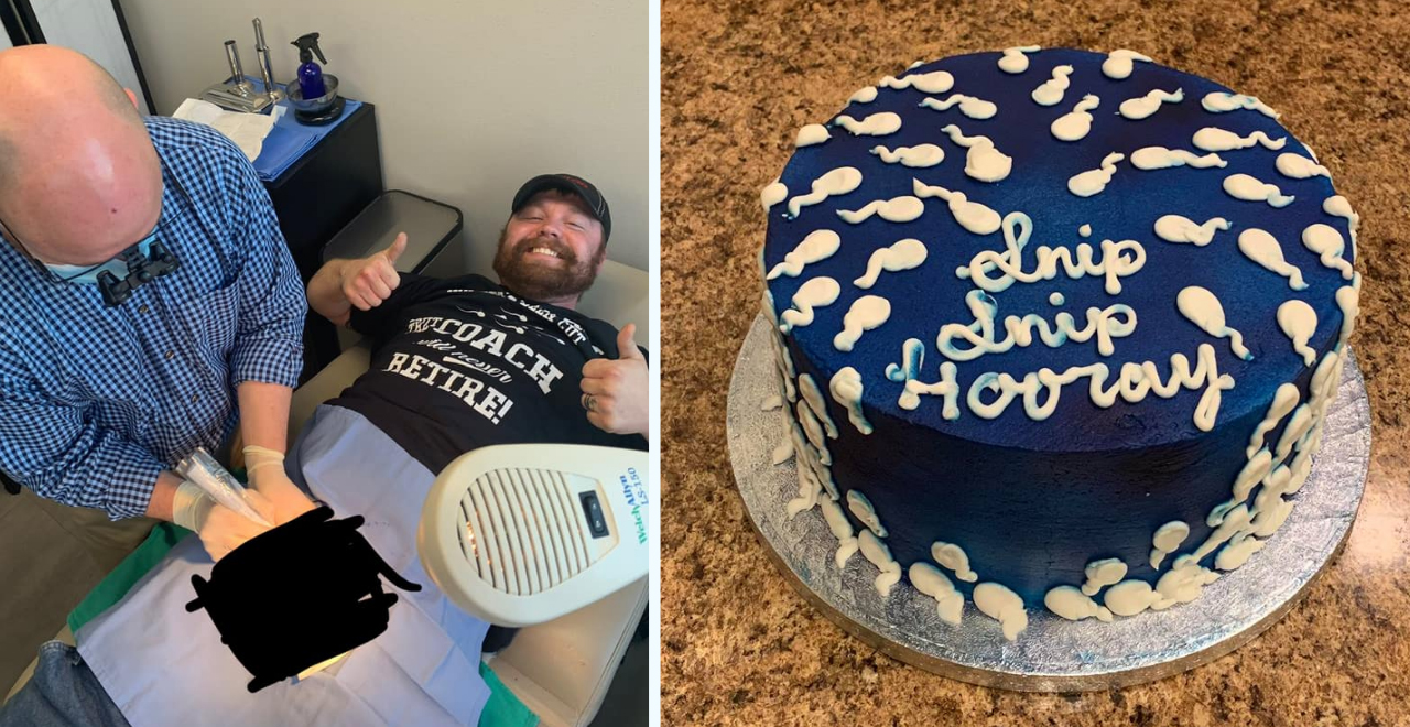 Couple Throws 'Snip Snip Hooray!' Party to Celebrate Dad's Vasectomy