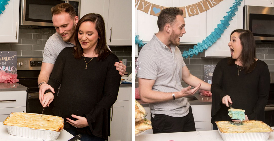 Mamma Mia... There Are Gender Reveal Lasagnas Now