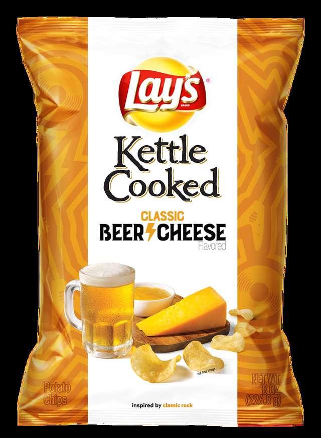 Lays Beer Cheers Kettle Chips