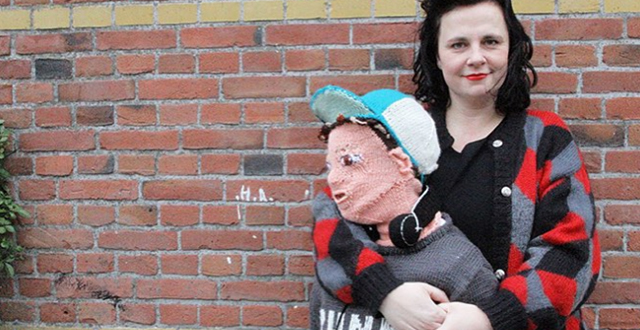 Teen Son Wouldn't Cuddle Anymore so Mom Knit a Cuddle Friendly Son