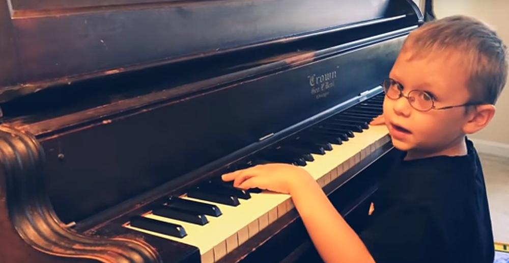 6yo Piano Prodigy