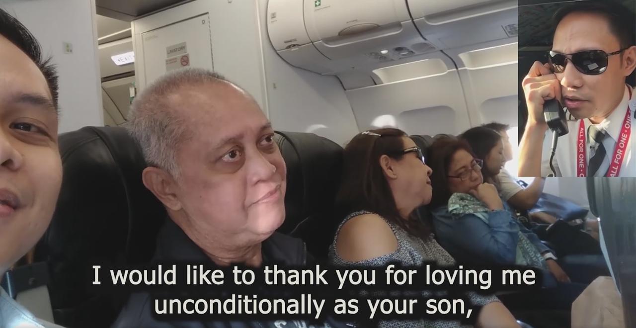 Pilot Son Thanks Parent Passengers