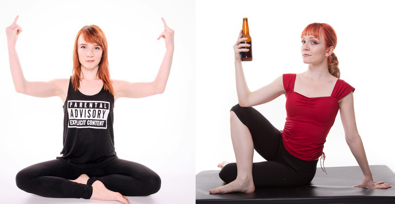 Rage Yoga With Beer